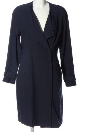 H&M Divided Übergangsmantel blau Business-Look