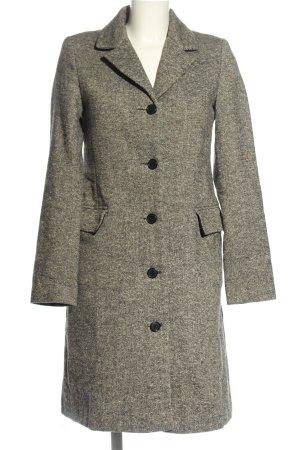 H&M Divided Between-Seasons-Coat black-natural white casual look