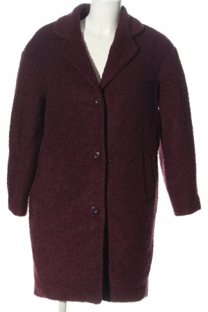 H&M Divided Between-Seasons-Coat red casual look