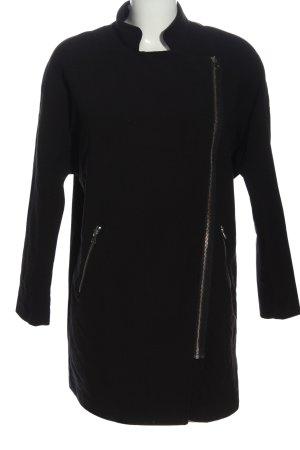 H&M Divided Between-Seasons-Coat black casual look