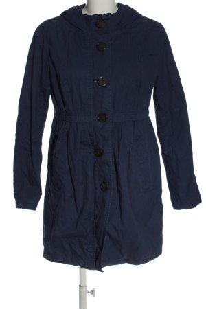 H&M Divided Between-Seasons-Coat blue casual look