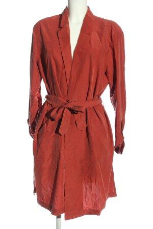 H&M Divided Between-Seasons-Coat red elegant