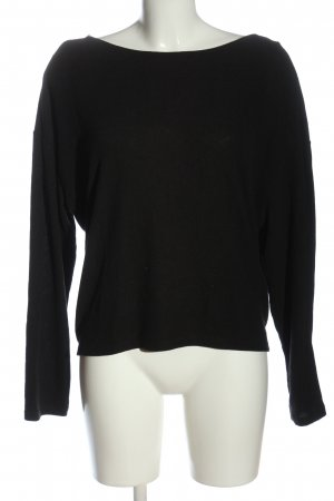 H&M Divided V-Neck Sweater black casual look