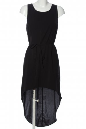 H&M Divided High Low Dress black extravagant style
