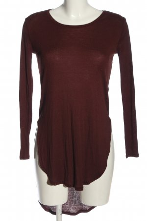 H&M Divided Robe bas asymétrique rouge style décontracté