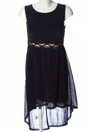 H&M Divided High Low Dress blue-black casual look