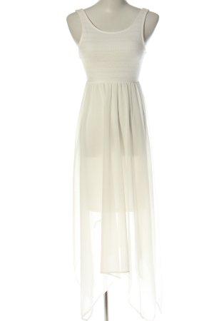 H&M Divided Vestido mullet blanco estampado repetido sobre toda la superficie