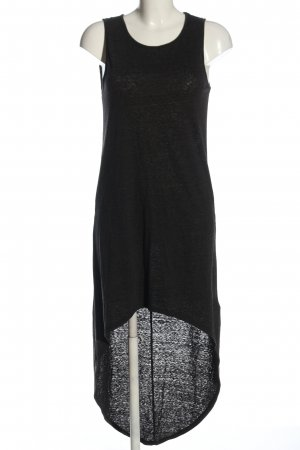 H&M Divided High Low Dress black casual look