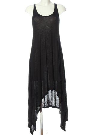 H&M Divided Robe bas asymétrique noir style décontracté
