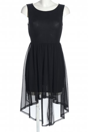 H&M Divided High Low Dress black elegant