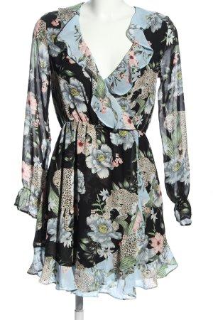 H&M Divided Flounce Dress allover print elegant