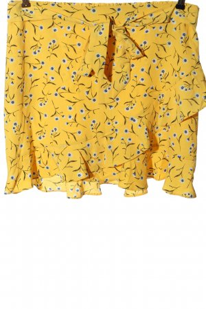 H&M Divided Spódnica z falbanami Na całej powierzchni W stylu casual