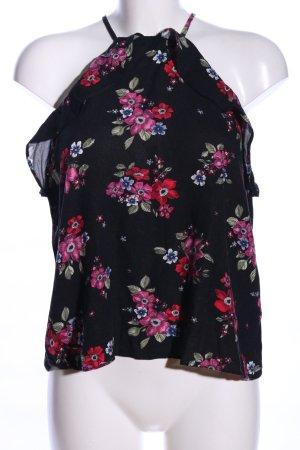 H&M Divided Top con balze motivo floreale stile casual