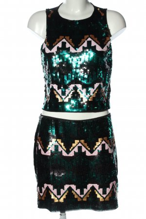 H&M Divided Woven Twin Set allover print extravagant style