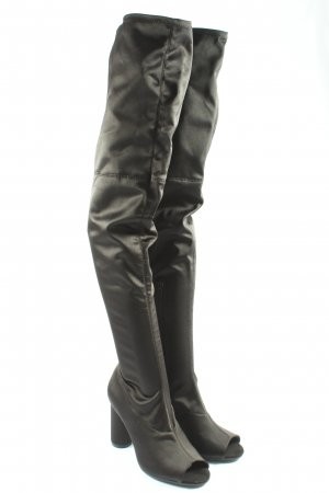 H&M Divided Bottes à tige large noir élégant