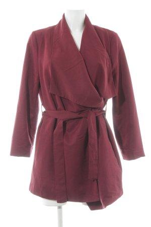 H&M Divided Veste cache-coeur rouge carmin élégant
