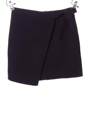 H&M Divided Wraparound Skirt black business style