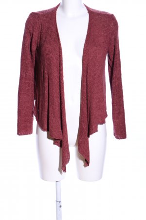 H&M Divided Wraparound Shirt red flecked casual look