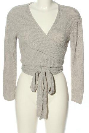 H&M Divided Maglietta aderente grigio chiaro stile casual