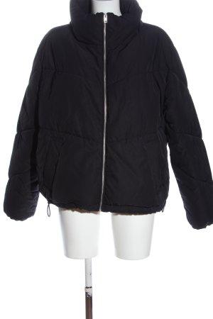 H&M Divided Kurtka zimowa czarny W stylu casual