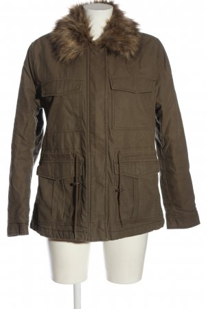 H&M Divided Winterjacke braun Casual-Look
