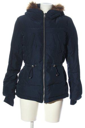 H&M Divided Kurtka zimowa niebieski Pikowany wzór W stylu casual