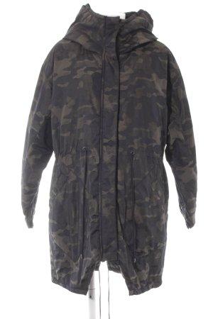 H&M Divided Winterjacke Camouflagemuster