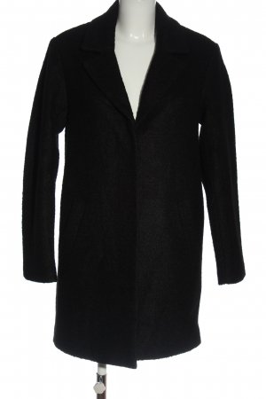 H&M Divided Winter Coat black simple style