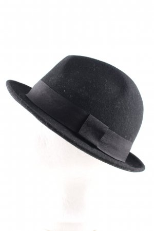 H&M Divided Woolen Hat black business style