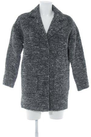 H&M Divided Wolljacke schwarz-dunkelgrau meliert