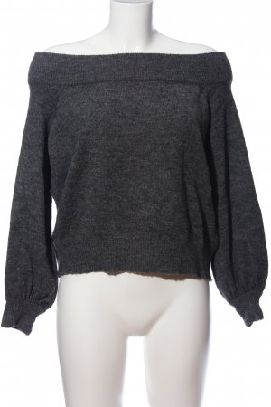H&M Divided Wollpullover hellgrau meliert Casual-Look