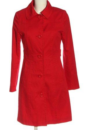 H&M Duffle-coat rouge style classique