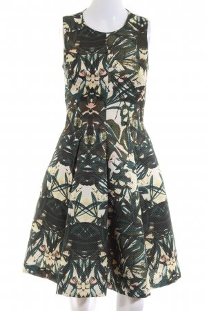 H&M Vestido corte imperio estampado con diseño abstracto look casual