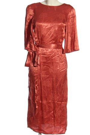 H&M Robe empire rouge élégant