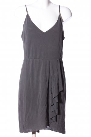 H&M Empirekleid hellgrau Casual-Look