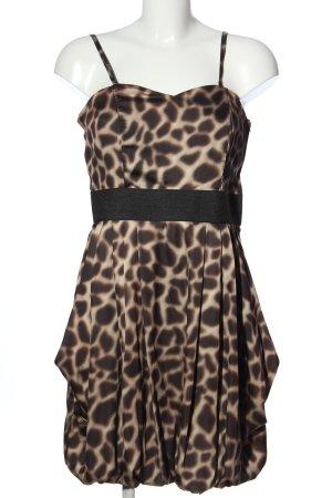 H&M Robe empire motif léopard élégant