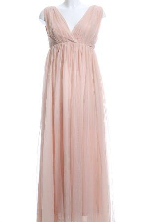 H&M Vestido corte imperio nude elegante