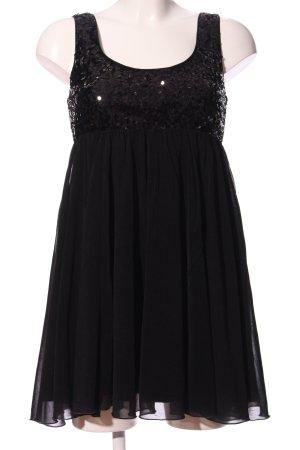 H&M Empirekleid schwarz Elegant