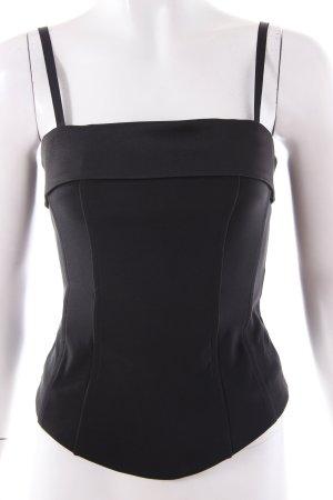 H&M Corsage Top black