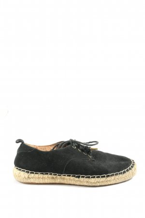 H&M Espadrille Sandals black-natural white casual look