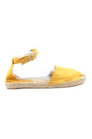 H&M Espadrille sandalen sleutelbloem casual uitstraling