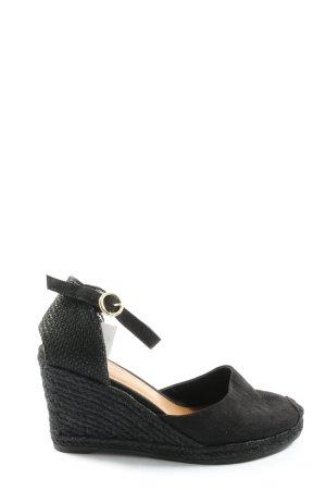 H&M Alpargatas negro look casual