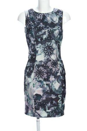 H&M Etuikleid abstraktes Muster Elegant