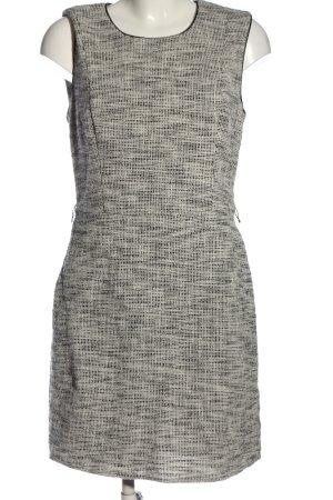 H&M Etuikleid schwarz-weiß Karomuster Casual-Look