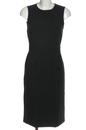 H&M Etuikleid schwarz Business-Look