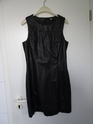 H&M Leather Dress black