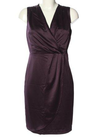 H&M Etuikleid lila Casual-Look