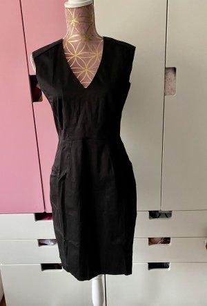 H&M Etuikleid schwarz Größe M