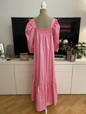 H&M exklusives Midi Kaftan Popeline Kleid Gr. S Neu