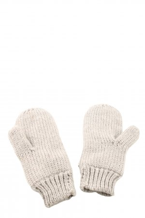 H&M Mittens natural white cable stitch casual look